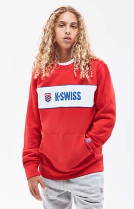 K-Swiss K Swiss Shield Crew Neck Sweatshirt