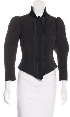 3.1 Phillip Lim Pleated Embellished Jacket