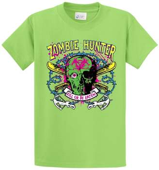 Hunter B&TM Printed Tees ZOMBIE KILL OR BE EATEN PRINTED TEE SHIRT - 4XT