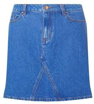 Dorothy Perkins Womens Bright Blue Rework Mini Skirt