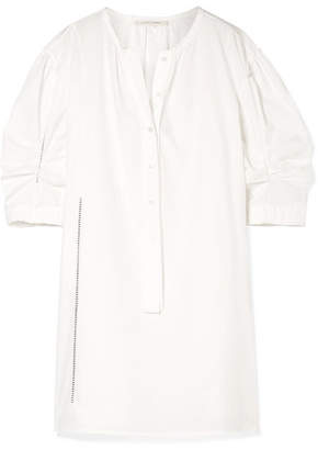 Marc Jacobs Cotton-poplin Mini Dress - White