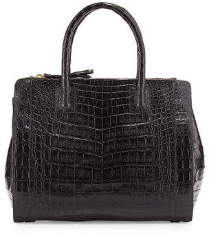 Nancy Gonzalez Crocodile Large Double-Zip Tote Bag