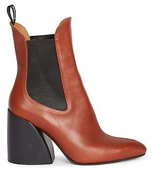 Chloé Women's Wave Chelsea Leather Booties