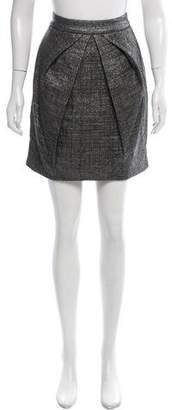 Rue Du Mail Metallic Mini Skirt w/ Tags