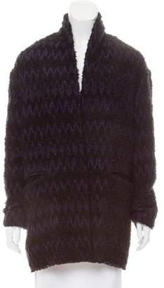Isabel Marant Bouclé Button-Up Jacket