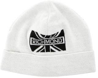 John Richmond Wool-Blend Logo Beanie