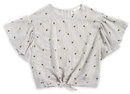 Soprano Girl's Pineapple Stripe Shirt