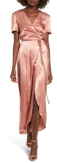Women's Wayf Gwyneth Wrap Maxi Dress