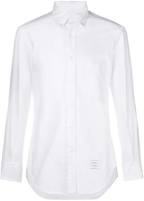 Thom Browne Grosgrain Sleeve Placket Classic Oxford Shirt