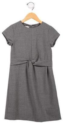 Gucci Girls' Virgin Wool A-Line Dress