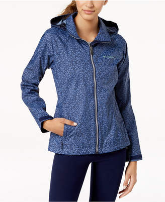 Columbia Switchback Waterproof Printed Raincoat
