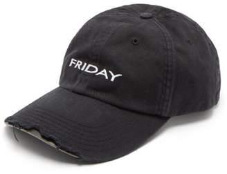Vetements X Reebok Friday Cap - Mens - Black