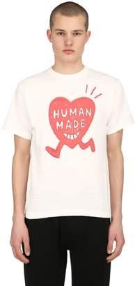 Big Heart Logo Cotton Jersey T-Shirt