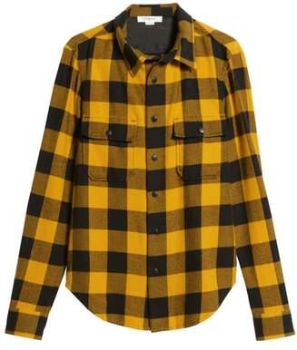Frame Classic Fit Buffalo Plaid Shirt Jacket