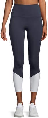 Kate Spade high-rise colorblock cropped leggings