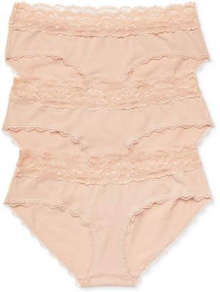 c42026814b305 Jessica Simpson Maternity Bikini Briefs, 3-Pack
