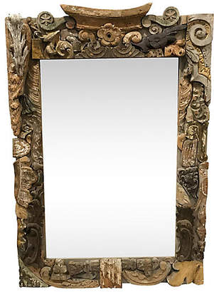 One Kings Lane Vintage French Mirror Made of Fragments - Heather Cook Antiques