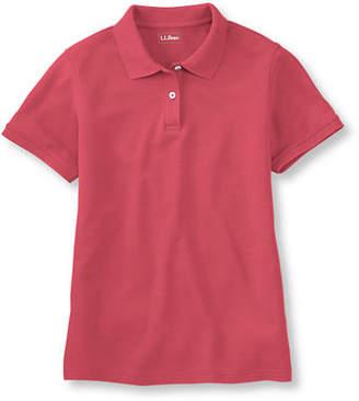 L.L. Bean (エルエルビーン) - プレミアム・ダブル・エル・ポロシャツ、半袖