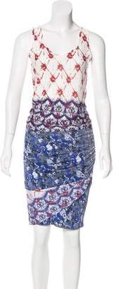 Michel Klein Cher Printed Skirt Set