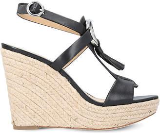 MICHAEL Michael Kors Darien leather wedge sandals