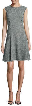 Rebecca Taylor Fringed Mini Dress
