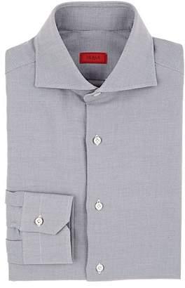 Isaia Men's Birdseye Cotton Dress Shirt