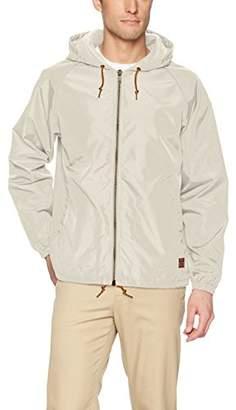 Brixton Men's Claxton Hooded Water Repellant Windbreaker Jacket