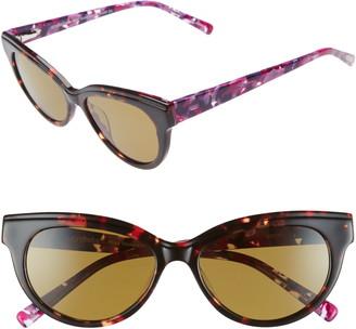 Eyebobs Miss Understood 53mm Polarized Cat Eye Sunglasses