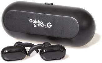 GABBA GOODS TECH ACCESSORIES Black TrueBuds Wireless Earbuds with Power Bank Cradle