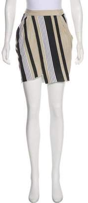 Ohne Titel Striped Mini Skirt