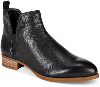 Nine West Nesrin Block-Heel Booties $99 thestylecure.com