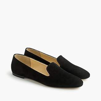 J.Crew Suede smoking slippers