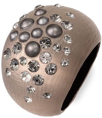 Alexis Bittar 'Silver Dust' Lucite® Ring