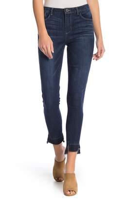 Democracy Step Hem Distressed Jeans