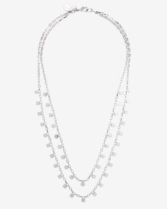 Express Two Row Layered Chain Necklace