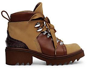 Chloé Women's Bella Nubuck & Leather Booties