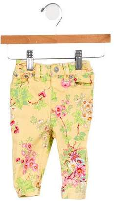 Ralph Lauren Infant Girls' Floral Print Jeans