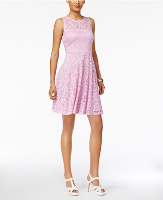 Thalia Sodi Lace Fit & Flare Dress, Only at Macy's $89.50 thestylecure.com