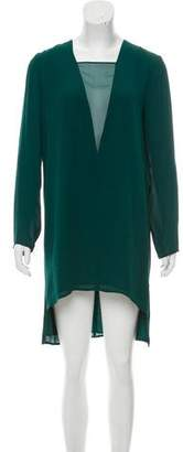 Mason Silk Knee-Length Dress