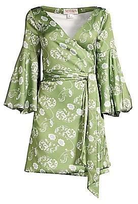 Mestiza New York Women's Savannah Cadiz Mini Wrap Dress