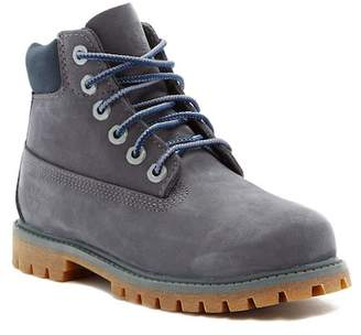 Timberland 6IN Premium Waterproof Boot - Wide Width Available (Little Kid) $100 thestylecure.com