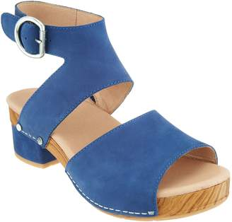 Dansko Leather Heeled Sandals - Minka