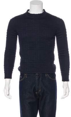 Billy Reid Jacquard Crew Neck Sweater
