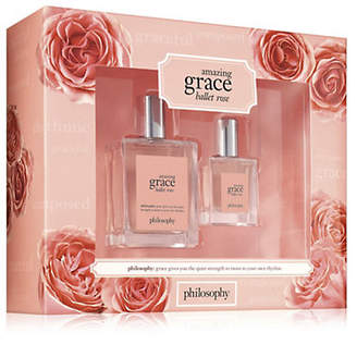 philosophy Amazing Grace Ballet Rose Two-Piece Mothers Day Set