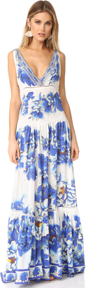 Camilla Ring of Roses Tiered Dress $850 thestylecure.com