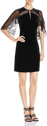 Elie Tahari Essence Velvet Lace Dress