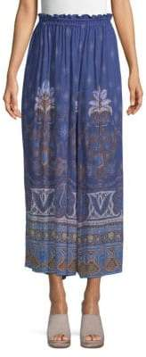Free People Printed Culottes