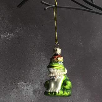 The Christmas Home Frog Prince Christmas Decoration