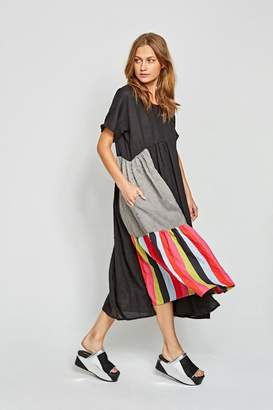 Alembika Linen Stripe Dress