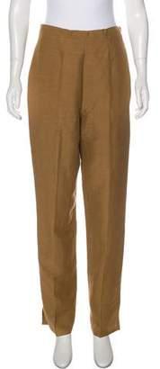Lauren Ralph Lauren High-Rise Straight-Leg Pants